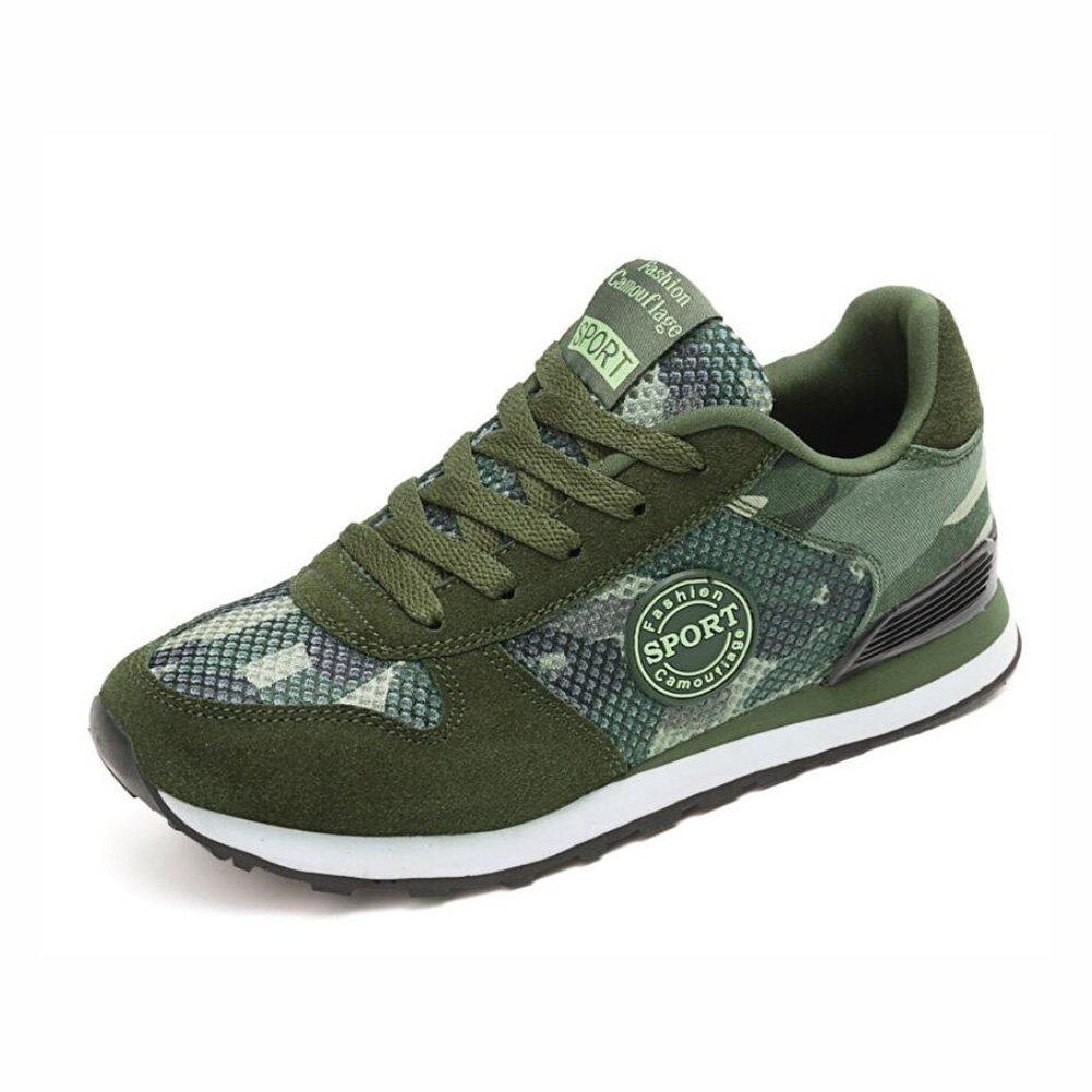 YaXuan Zapatillas de Deporte al Aire Libre, Zapatos de Camuflaje, Modelos de par Transpirable de Verano Nueva Malla, Zapatos Militares de los Hombres (Color : UN, Tamaño : 39) 39|UN