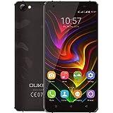 OUKITEL C5 PRO スマートフォン4G FDD-LTE Phone 5.0インチ 720*1280 MTK6737 クアッドコア 1.3GHz CPU Android 6.0 OS 2GB RAM 16GB ROM デュアルSIM GPS OTA (ブラック)