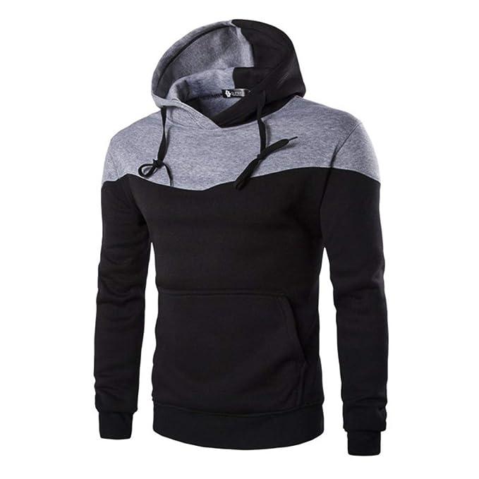 Mistere Autumn Clothes Hoodies Men Sudaderas Hombre Hip Hop Mens Hoodie Decorative Pocket Sweatshirt,Black
