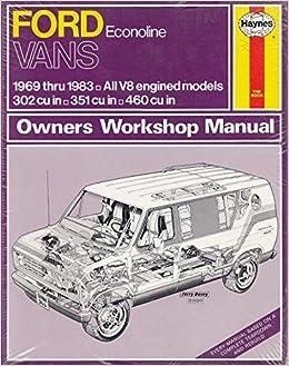 Amazon in: Buy Ford Econoline Vans 1969-83 Owner's Workshop