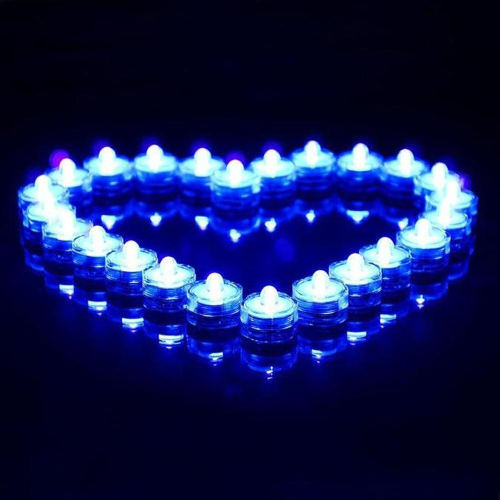 Anshinto Floating Underwater LED Light Glow Show Swimming Pool Hot Tub Spa Lamp String Light by Anshinto (Image #1)