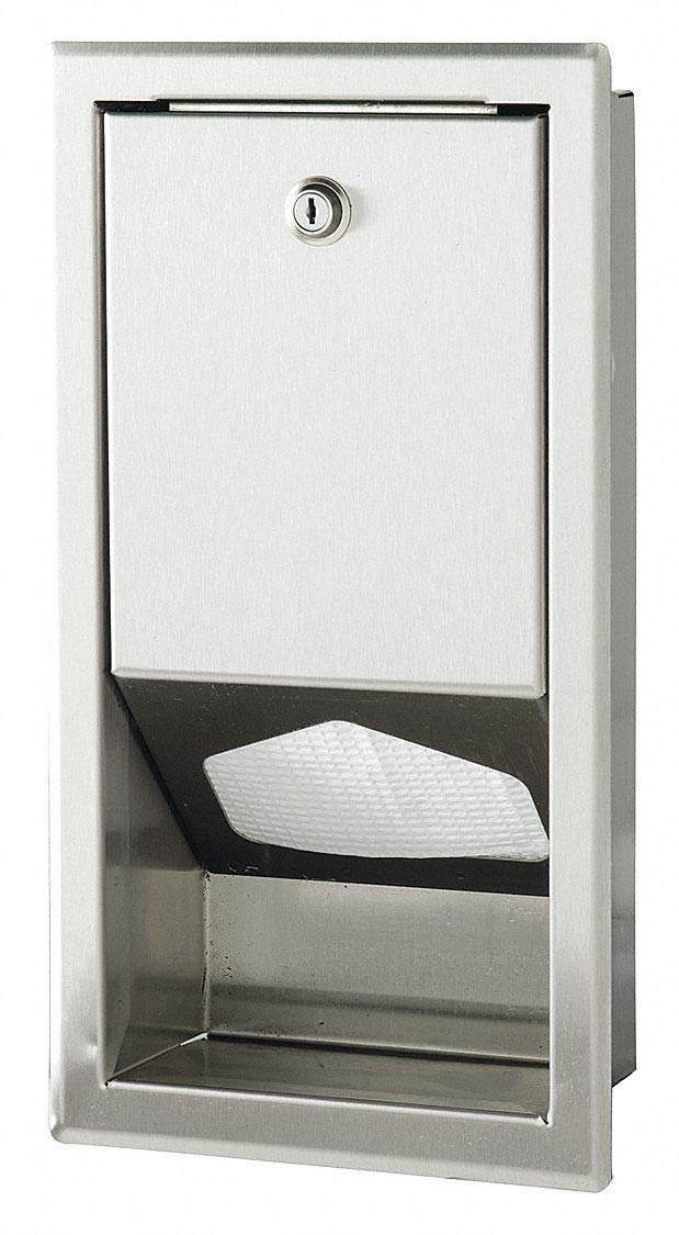 16'' x 8'' x 4'' Changing Station Liner Dispenser, For Use With Mfr. Model No. 036-LCR, 036-NWL