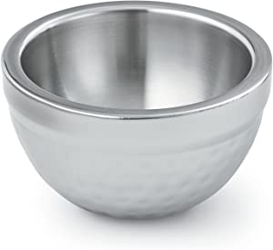 Artisan Insulated, Double-Wall Stainless Steel Serving Bowl, 14-Ounce Capacity