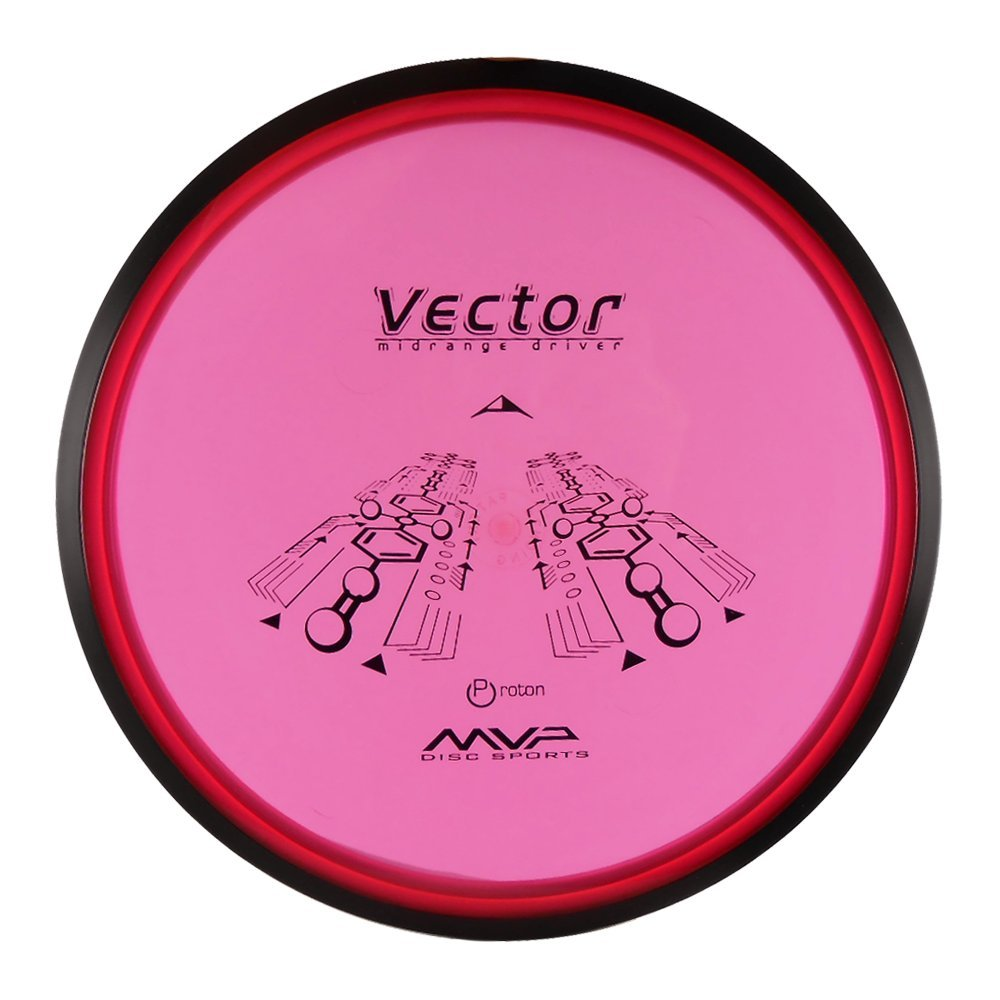 MVP Disc Sports Proton Vector Midrange Golf Disc [Colors May Vary] - 170-180g