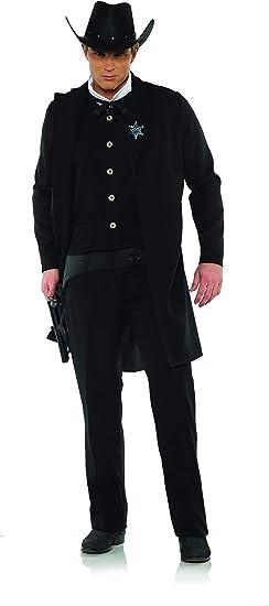Underwraps - Disfraz de Sheriff para Hombre, Talla única, Color ...