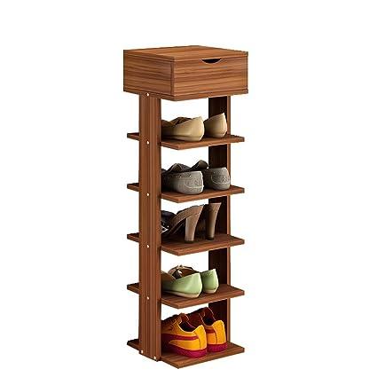 Amazoncom Modern Simple Storage Shelf Home Economical Multilayer