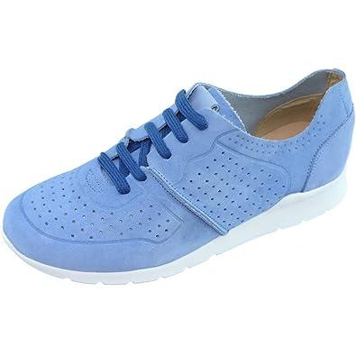2acb70394133d2 Angelina® EDILINE Tennis Snickers À Lacet Chaussures Souple Et Confortable  pour Femme Fabriqué en Espagne
