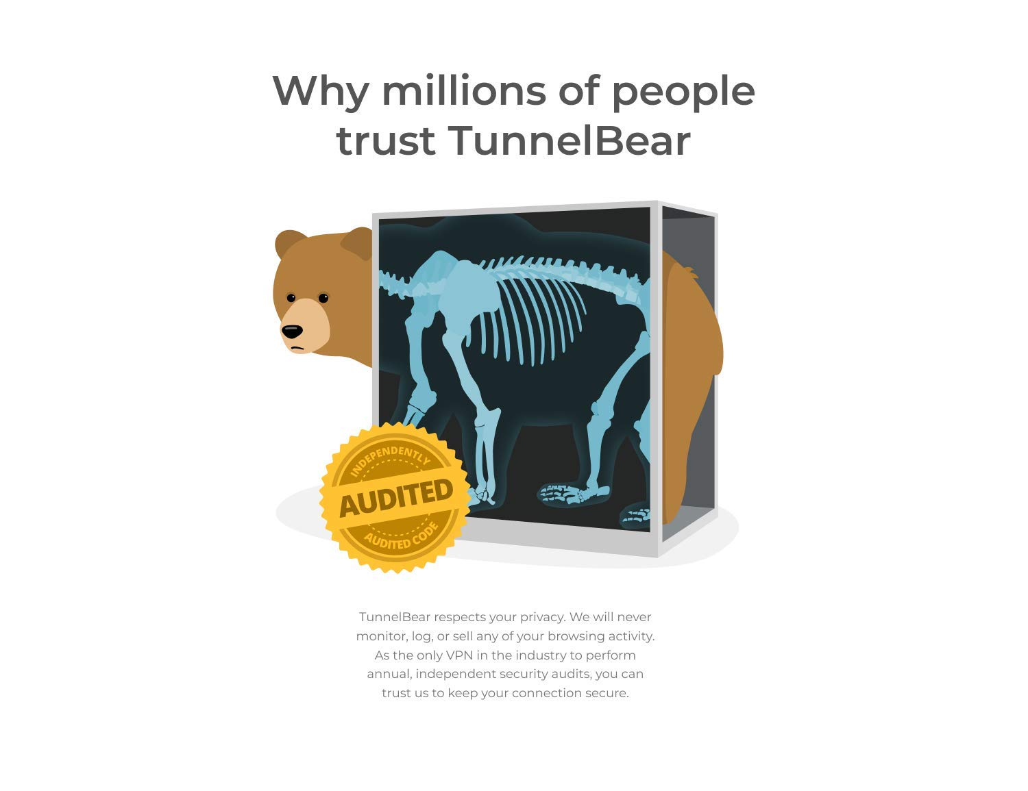 TunnelBear VPN|Wifi and Internet Privacy|5 Devices|Unlimited Data|1 Year  [PC Online code]