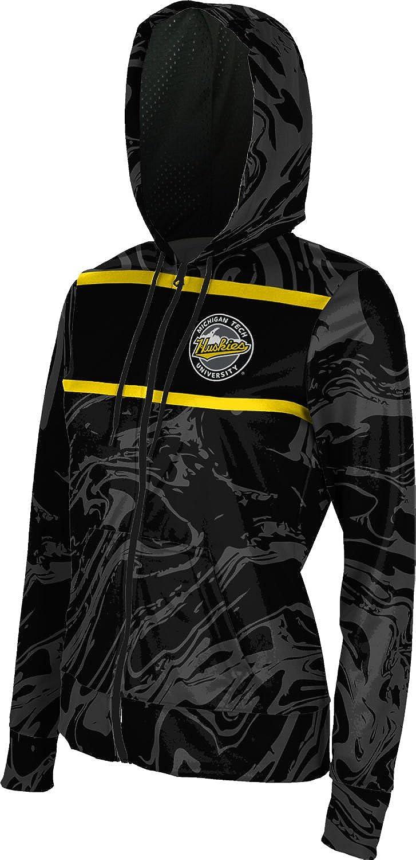 ProSphere Michigan Technological University Girls Zipper Hoodie School Spirit Sweatshirt Ripple