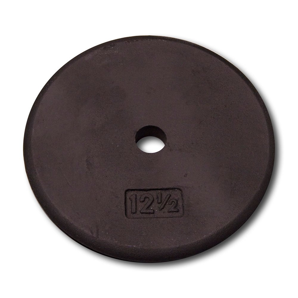 Body-Solid Standard Black Iron Weight Plates
