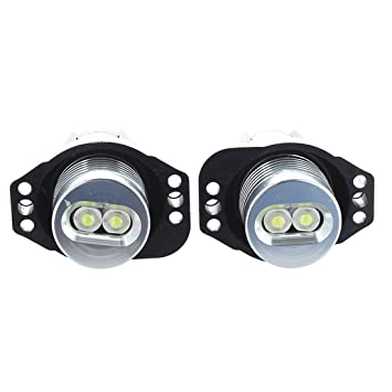 Sonline Par Bombillas Angel Eye LED 12V DC Halo Ring Light luz blanca para E90 E91: Amazon.es: Coche y moto