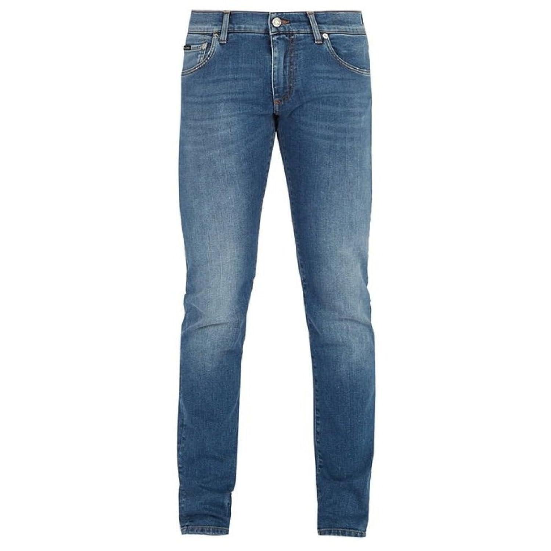 (ドルチェ&ガッバーナ) Dolce & Gabbana メンズ ボトムスパンツ ジーンズデニム Slim-leg jeans [並行輸入品] B07FJPFFTS   52EU-IT