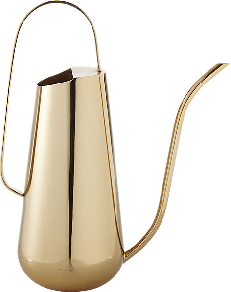 brass watering can | CB2