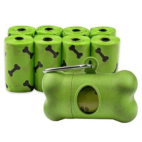 AiQInu Bolsas de Basura biodegradables para Perros Bolsa ...