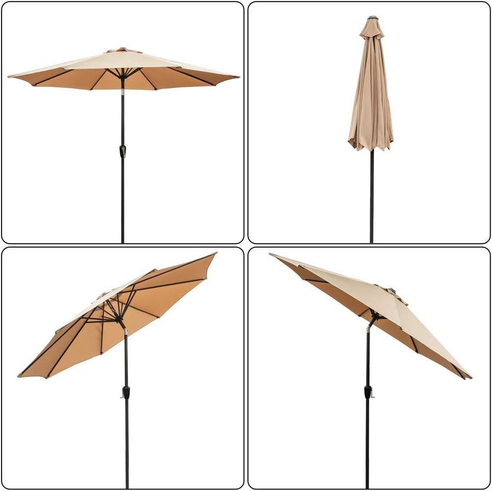 Amazon coupon code for 9Ft Market Umbrella Patio Outdoor Table