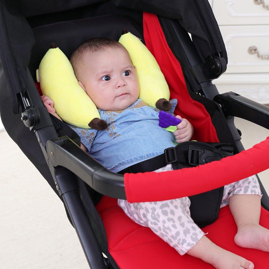 Coton Bébé papillon Oreiller téléscopique tête support poussette siège auto bébé UE