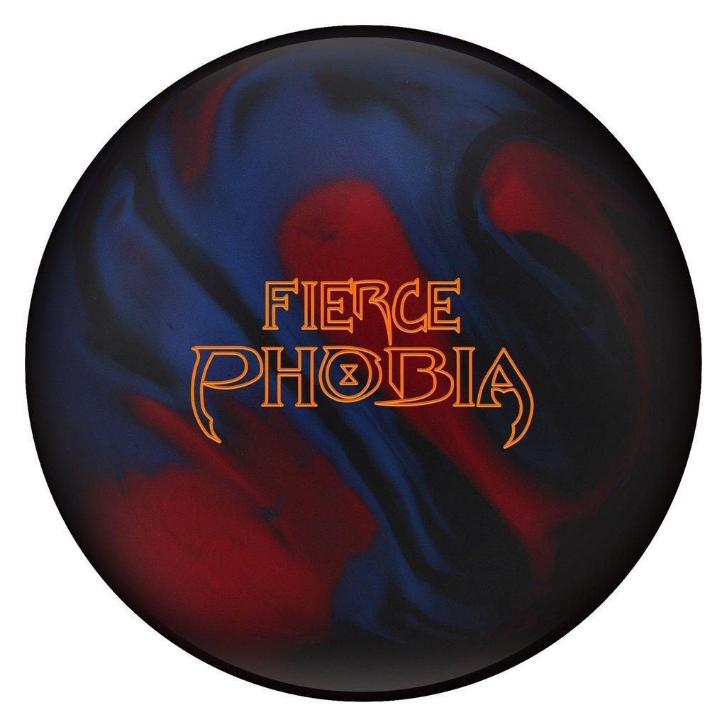 ハンマーFierce Phobia Bowling ball-ブルー/レッド/ブラック B078ZLZWG6  16lbs