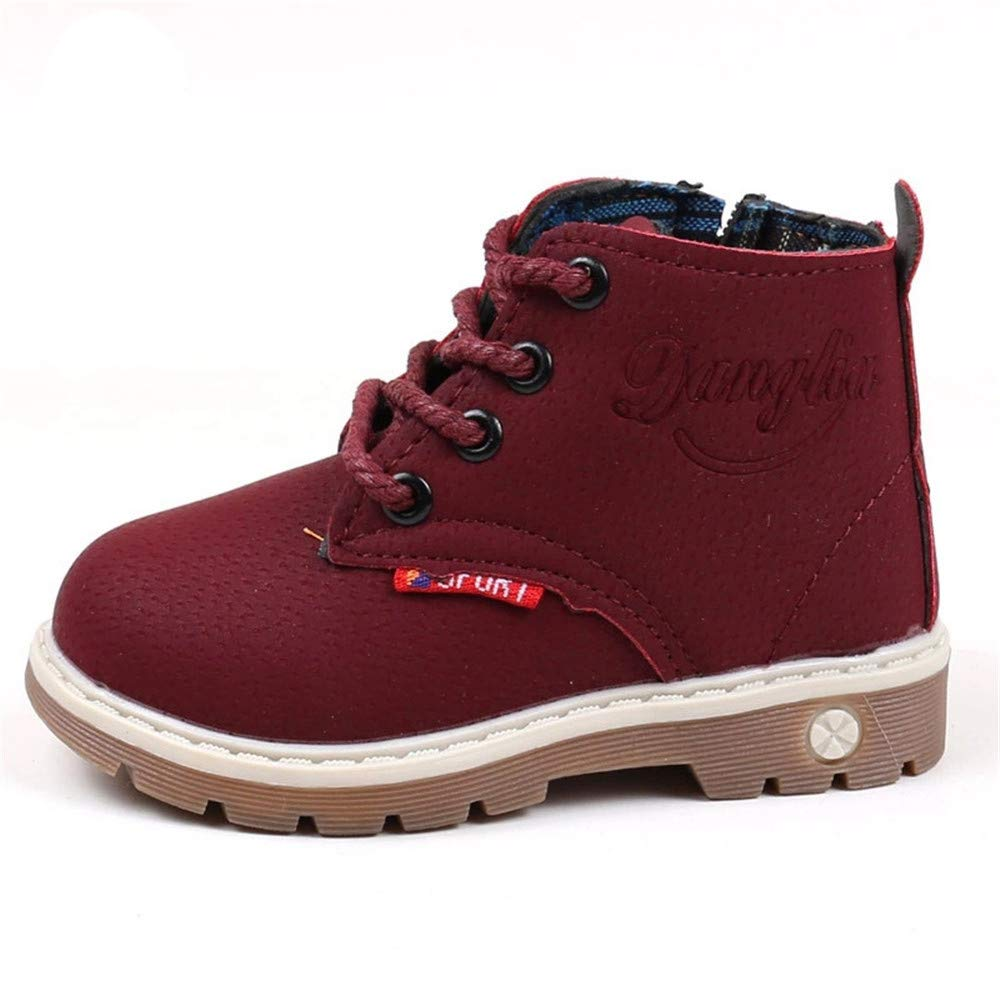 Dolwins Babys Boys Girls Waterproof Short Ankle Boot Martin Boots