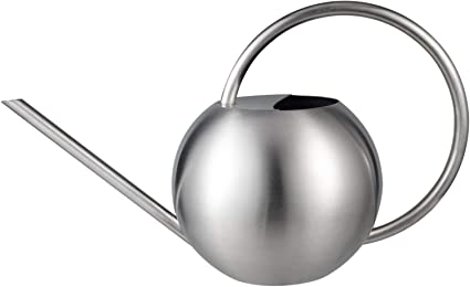 33oz//1L IMEEA Small Indoor Watering Can for House Plants Stainless Steel Watering Pot with Long Spout