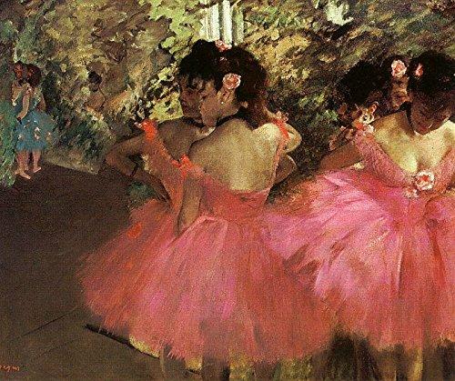 Dancers in Pink by Edgar Degas - 16