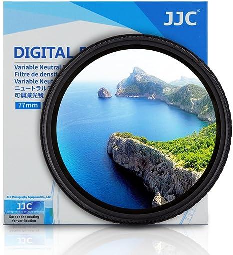 JJC f-ndv 49 mm ND Fader Densidad neutra Ajustable Variable Filtro ...