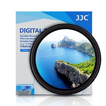 JJC f-ndv 49 mm ND Fader Densidad neutra Ajustable Variable Filtro ...