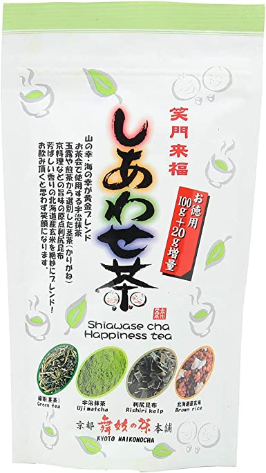 Original] [algas] [t? verde] [t?] [value pack] [de salud] [algas] t? de mezcla de t? japonesa otro valor 120g t? feliz Emimon Fukurai paquete de Kyoto de Maiko del t? Honpo: Amazon.es: