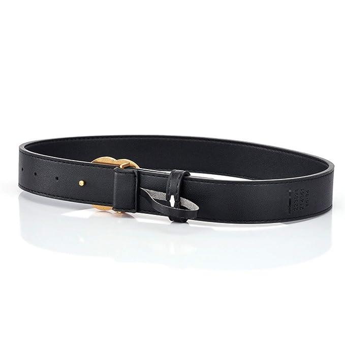 Casual Doble G CINTURóN diseñador de la marca de lujo Cinturón de cuero  REAL 3.3 CM Ancho Jeans  Amazon.es  Ropa y accesorios 690686373621
