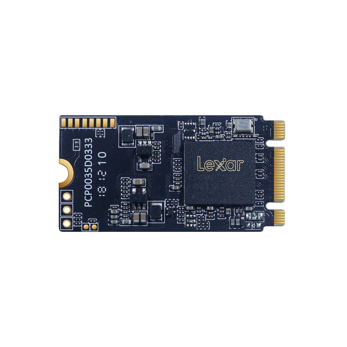 Lexar NM520 M.2 2242 512GB NVMe Solid-State Drive (LNM520-512RBNA)