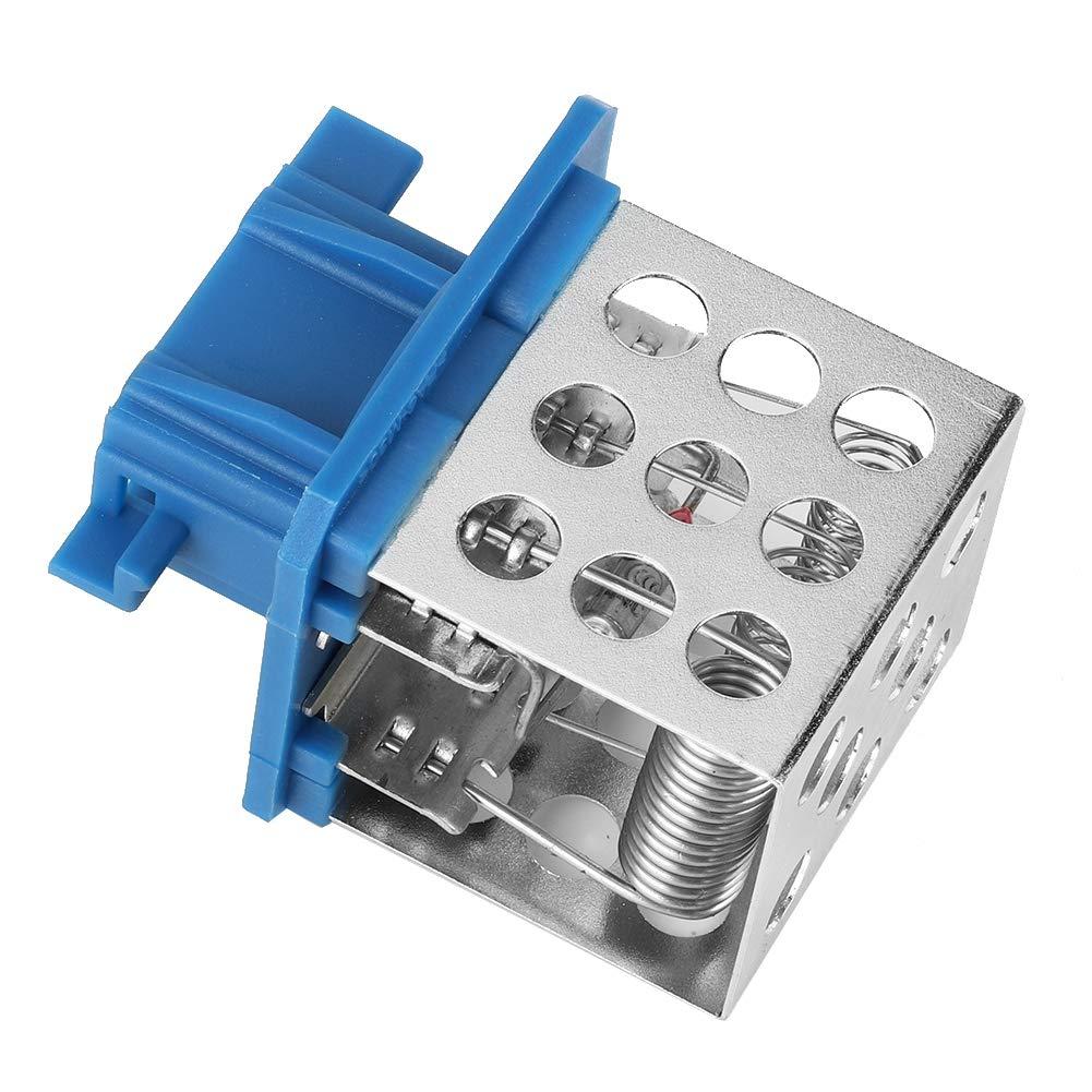 Ventola del motore Ventola del radiatore resistenza di controllo velocit/à adatta per 206 Xsara Picasso 6450EP 6450.EP Qii lu Metal Resistenza ventola motore
