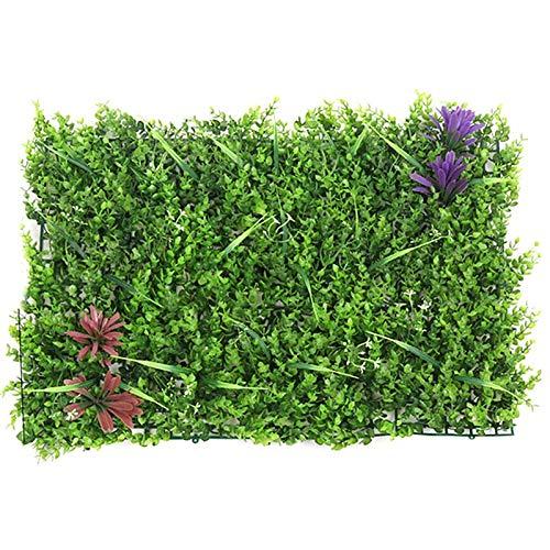 Artificial Plants - 40x 60cm Pockets Black Green Wall Hanging Plant Pot Felt Vertical Flower Planting Bag Garden Grow - Plant Vines Decor Rustic Backdrop Tabletop Privacy Stem Containers ()