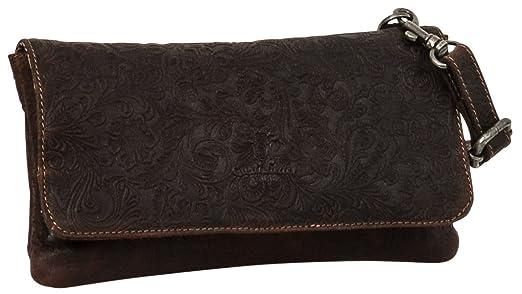 ff8e9dfa41dfe Gusti Leder Studio Umhängetasche aus Leder   Berit   Handtasche Damen Braun  2H60-20-13  Amazon.de  Koffer