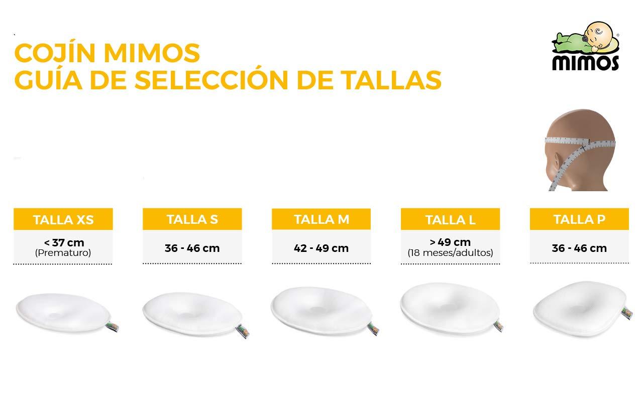 LOTE: Cojín Mimos® + Funda Gris Nubes (TALLA XS)