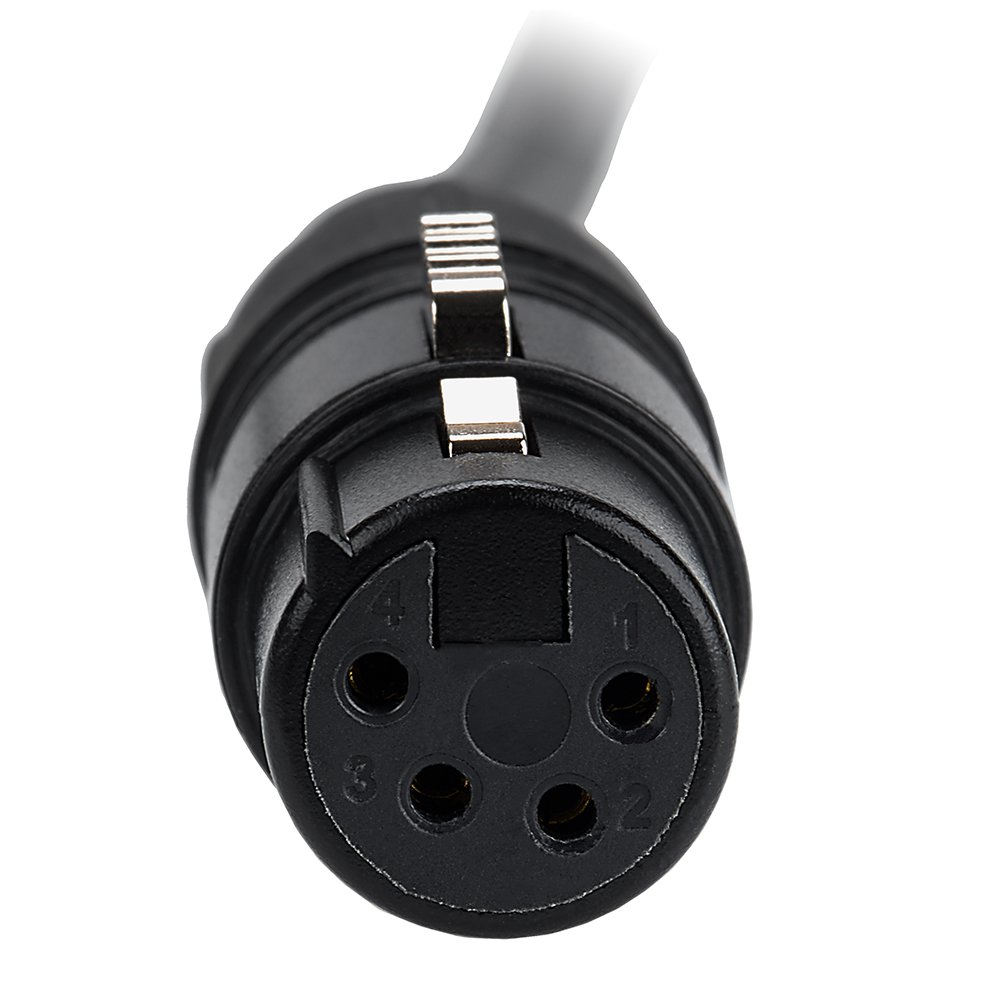 Fotodiox Power Adapter Cable 4 Pin Xlr Female To 21mm Barrel Dc 17 Inches Jack Femaledc 55dc Product Camera Photo