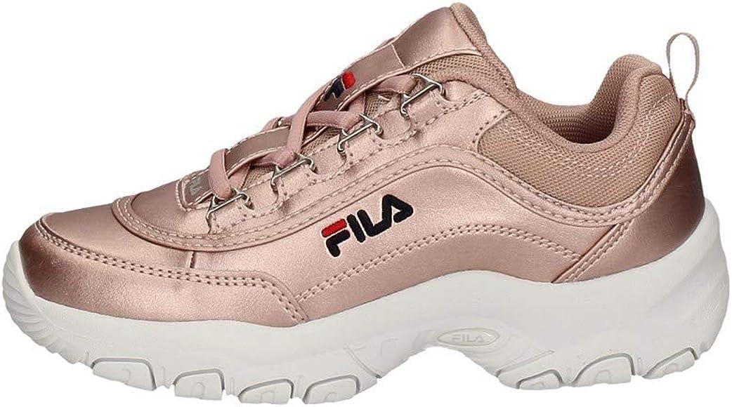 Fila Strada F Low JR, Zapatillas Unisex niños, Rosa Sepia, 28 EU: Amazon.es: Zapatos y complementos