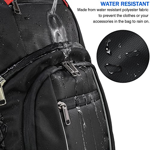 Laptop Backpack 17.3 Inch USB Charging Port Waterproof Large Business  Travel Bag College School Students Gaming 01d853e32cba1