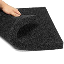 Aquarium Biochemical Cotton Filter Foam Fish Tank Sponge 50x50x2.5cm by liannmarketing