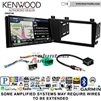 Volunteer Audio Kenwood DNX874S Double Din Radio Install Kit with GPS Navigation Apple CarPlay Android Auto Fits 2005-2007 Volvo S60, V70, XC70
