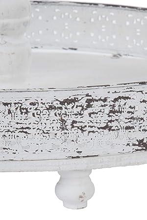 Etagere 3 Etagen im weißen Shabby-Chic-Look