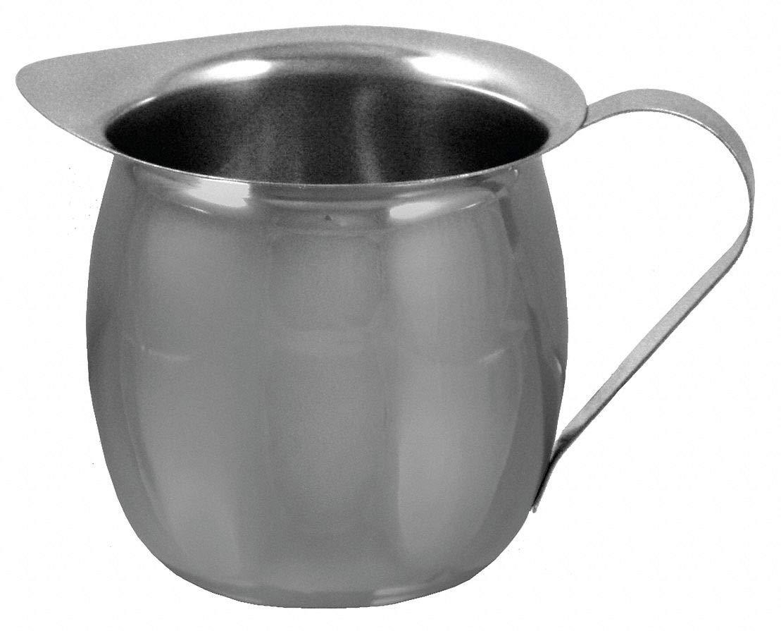 Bell Creamer, 3 oz, Silver, Pk12