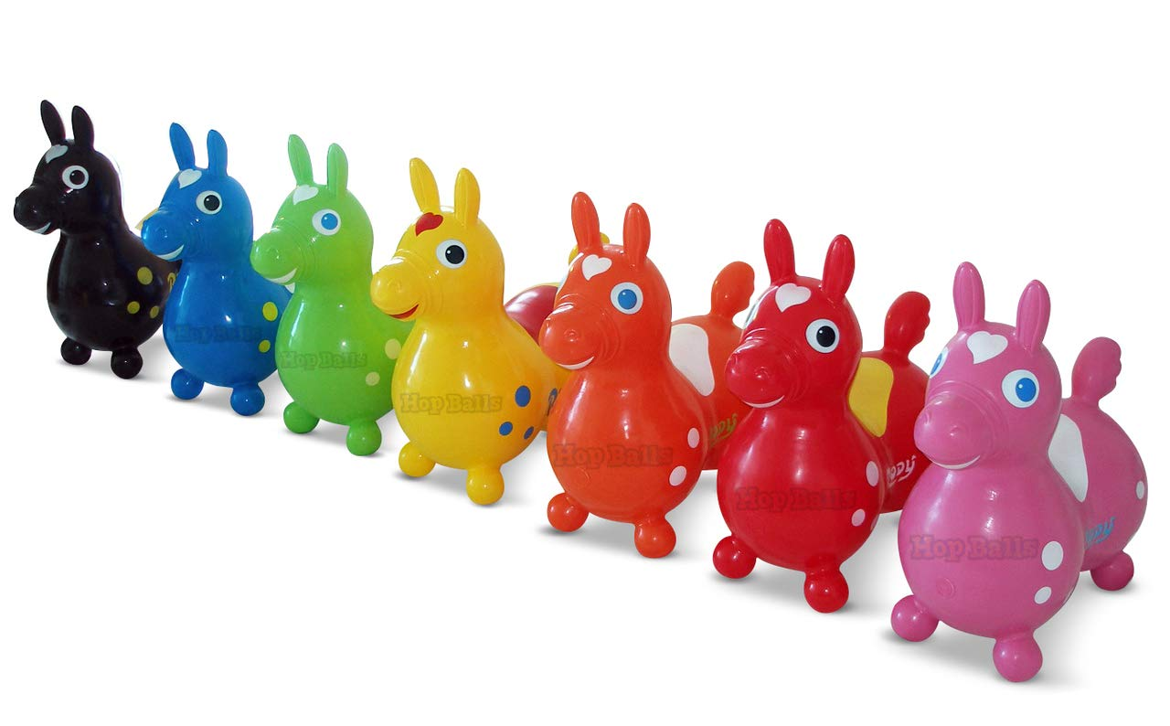 Gymnic Orange Rody Horse + Pump Bundle (Includes One Rody Horse and One Pump)