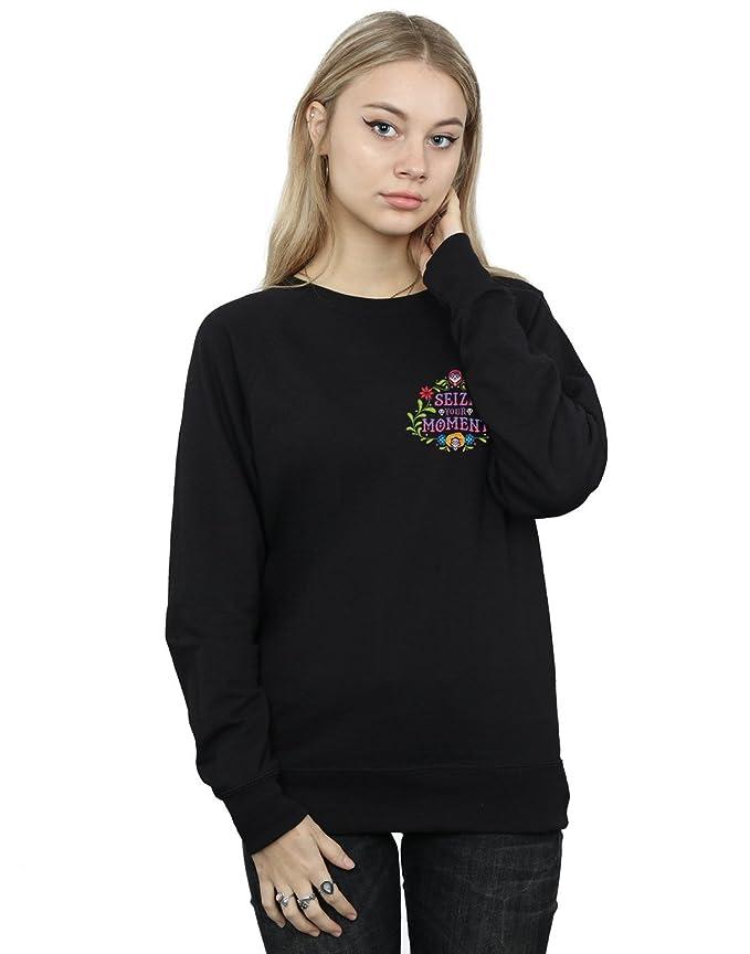 f45bb50f5ac0e Amazon.com: Disney Women's Coco Seize Your Moment Sweatshirt: Clothing
