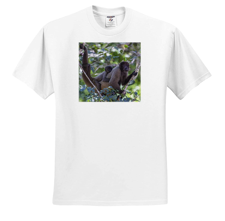 Brazil as Monkeys 3dRose Danita Delimont Adult T-Shirt XL Woolly Monkeys ts/_314059