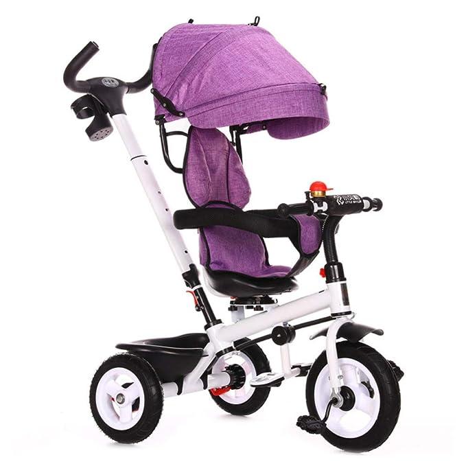 LXIANGP Triciclo de niños de múltiples Funciones de ...