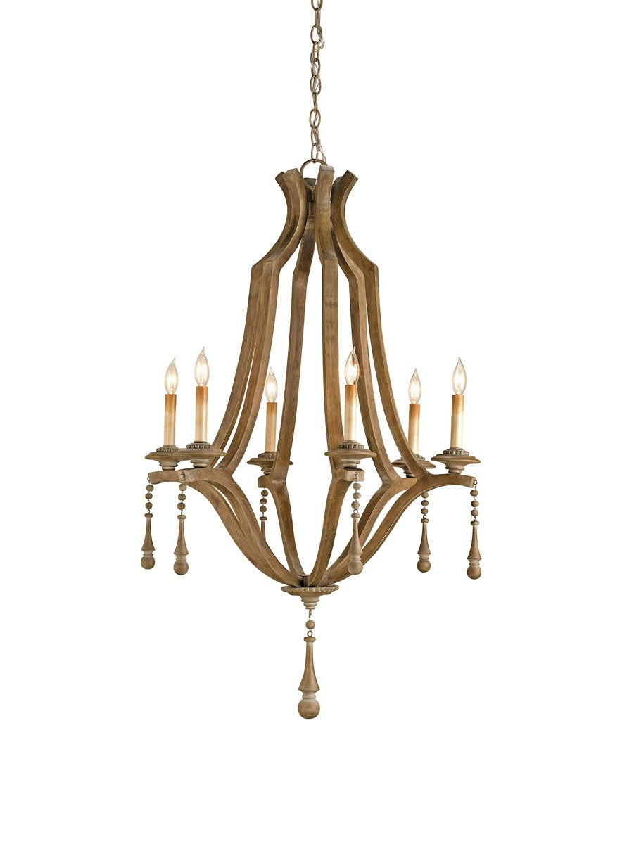 Currey and company 9256 simplicity 6 light chandelier washed wood currey and company 9256 simplicity 6 light chandelier washed wood amazon arubaitofo Image collections