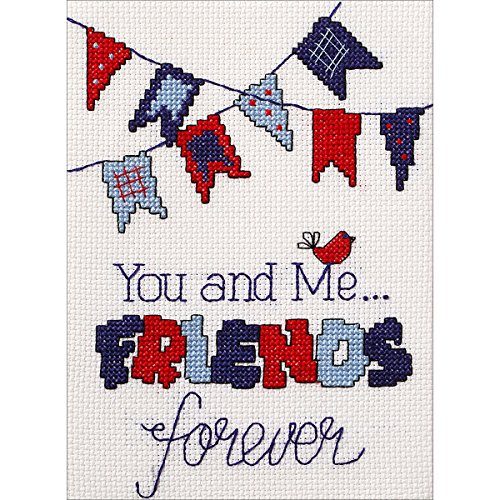 My 1st Stitch Friends Forever Mini Counted Cross Stitch Kit-5