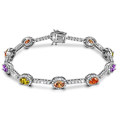 Bracelets Ladies Silver Fashion Bracelet Pretty And Colorful