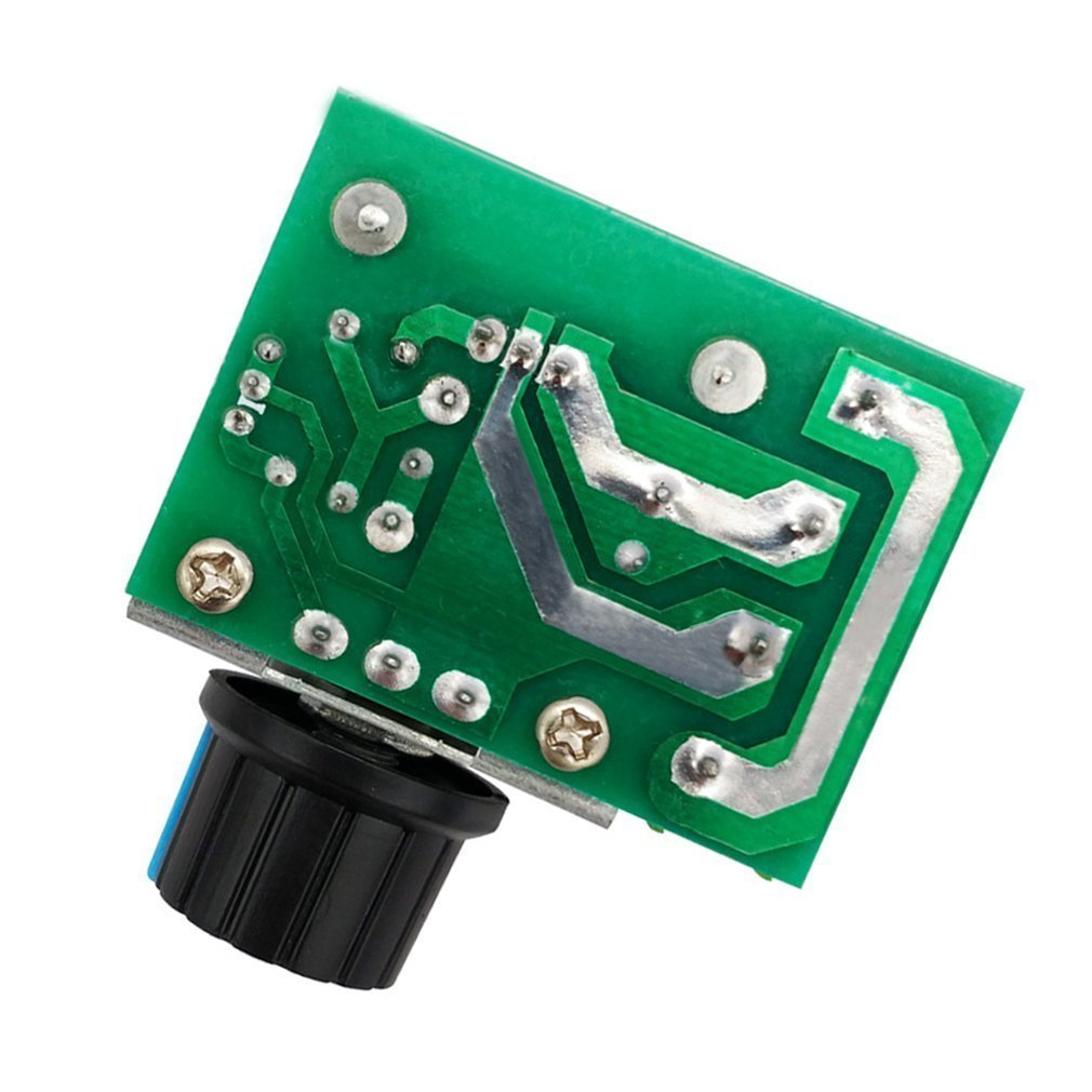 Hiletgo 2000w Pwm Ac Motor Speed Control Module Dimmer Fan Regulator Circuit Which Can Also Be Used As A Simple Lamp 50 220v Adjustable Voltage Home Improvement