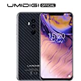 "UMIDIGI Z2 Pro 6.2"" Full Screen Unlocked Smartphone- 6GB RAM+ 128GB ROM Cellphones - Dual 4G Volte With Global Band -16MP+8MP Dual Camera Unlocked Cell Phone with NFC/15W Wireless Charge(Carbon Fiber)"