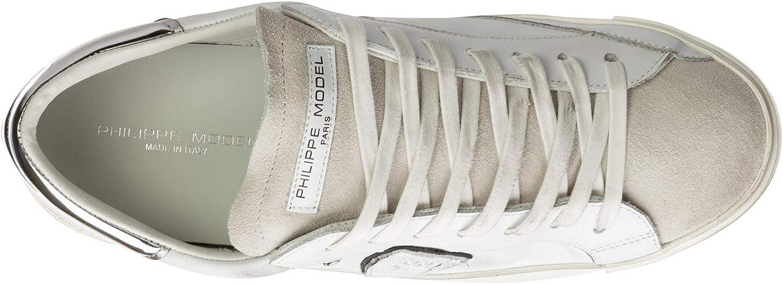 Philippe Model Homme Prsx Basket Blanc Blanc